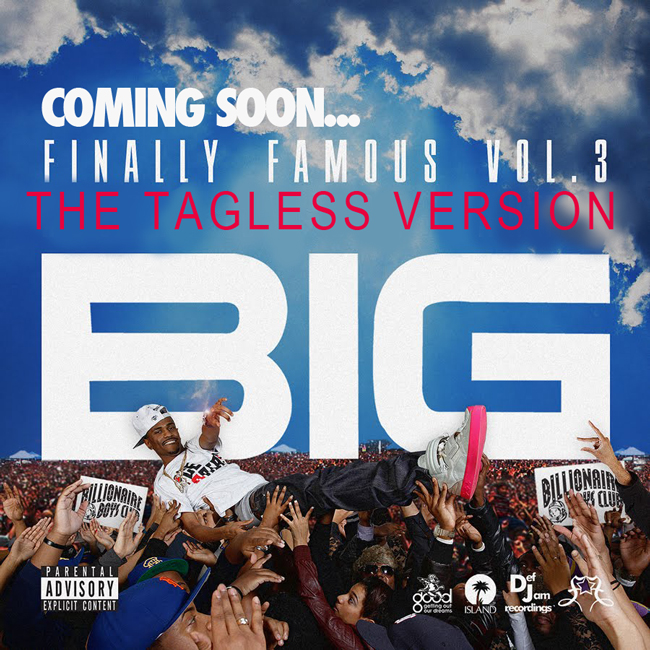 album big sean finally famous vol 3. ig sean finally famous vol 3